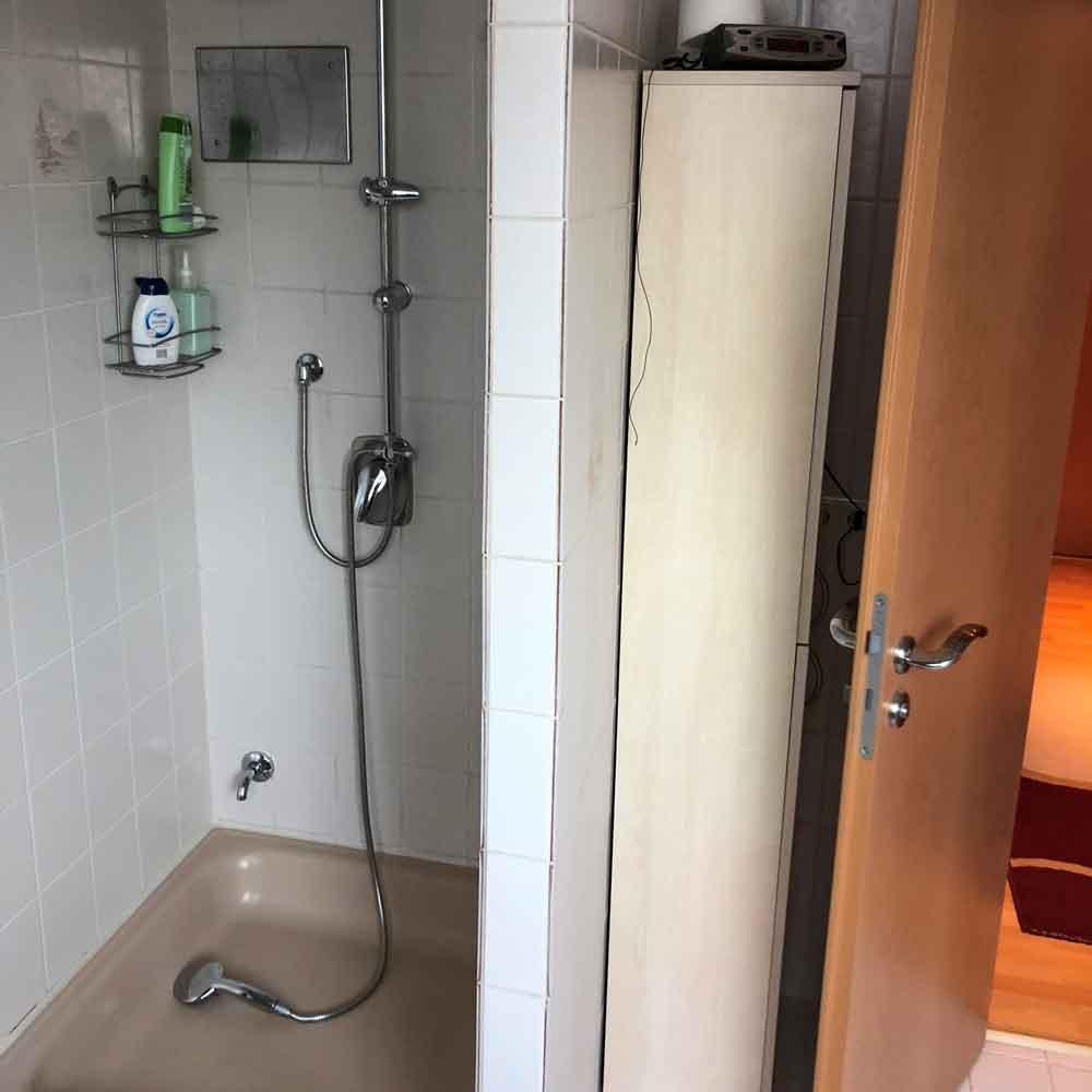Bad renovieren Dusche 01