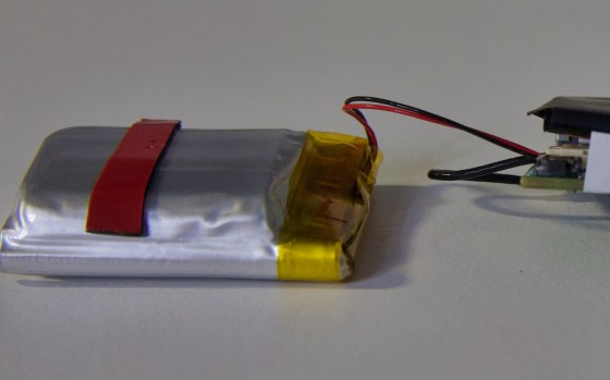 Jack by Podo labs - They forgot to tape the battery