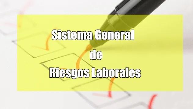 sistema general de riesgos