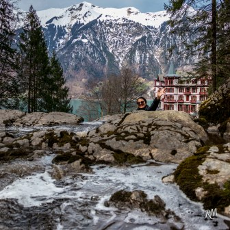 Ioana Lauterbrunnen waterfall 9 3 2.04.18 (1 of 1)
