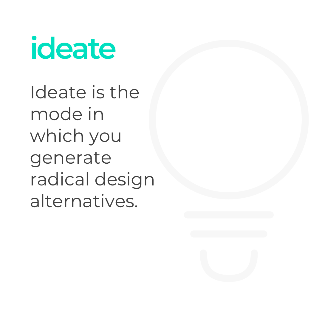 Ideate dalam Design Thinking