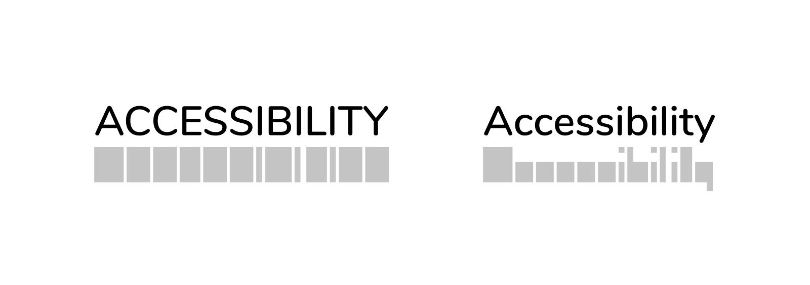 Perbandingan huruf besar dan huruf kecil
