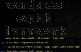 WordPress Exploit Framework