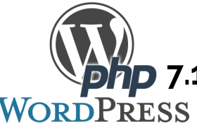 WordPress & PHP 7.1