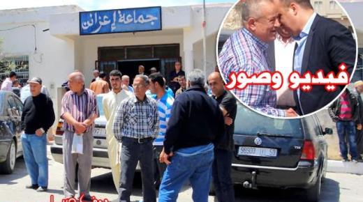 أبرشان ينتفض ضد ممثلي المصالح الخارجية بالناظور من أجل حل المشاكل التي تتخبط فيها جماعة إعزانن