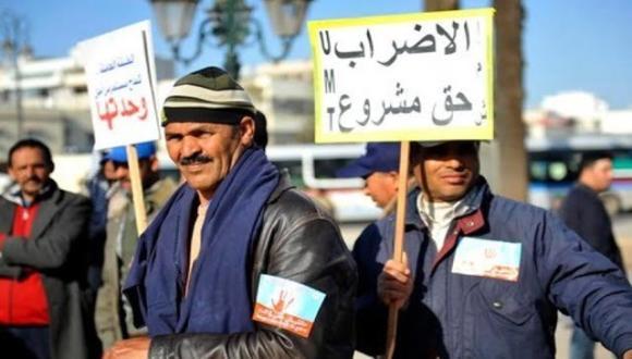 الحكومة تقرر سحب مشروع قانون الإضراب مؤقتاً حتى تفتح المشاورات مع النقابات