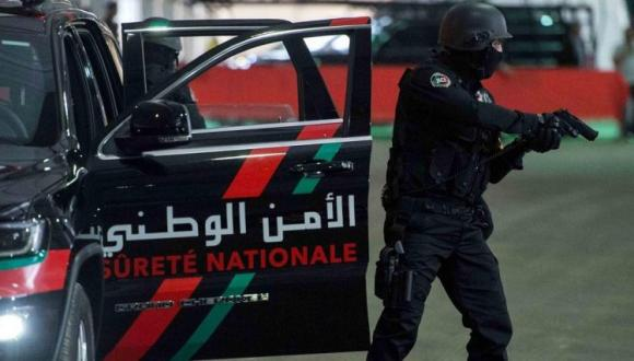 إطلاق النـار على جانـح هجم على عناصر الأمن بالسلاح الأبيـض