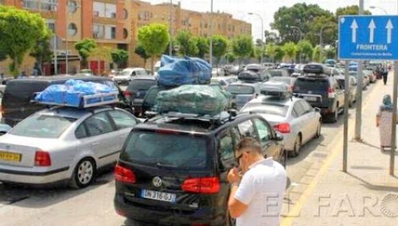 مندوبة الحكومة الإسبانية في مليلية توضح بشأن عملية عبور المغتربين وفتح الحدود مع المغرب