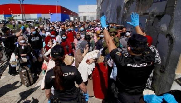 تأجيل عملية ترحيل أزيد من 200 مغربي من سبتة المحتلة
