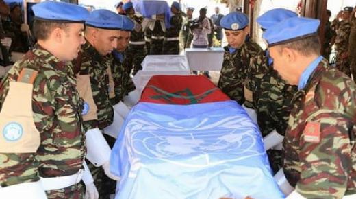 مقتل جندي مغربي في هجوم مسلّح بإفريقيا الوسطى