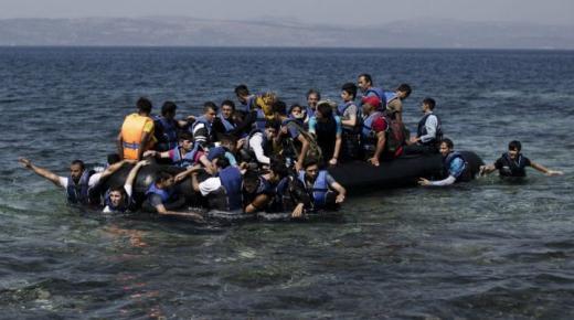 القوات المساعدة في حراستها للسواحل توقف عددا كبيرا من عمليات التهجير البشري