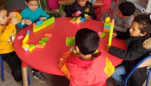 أركمان لهدارة .. دوار احموشن يستفيد من وحدة للتعليم الاولي (+صور)