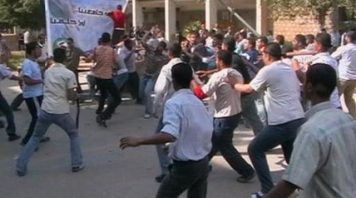 فيديو: مواجهات بين طلاب بجامعة فاس تفضي الى مقتل طالب اسلامي