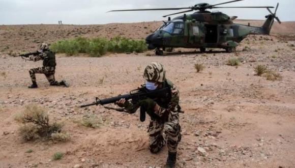 عناصر عصابة البوليساريو فروا هاربين بعد قصف مغربي