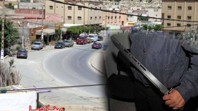 خطير:مواطن يشهر سيفا في وجه باحث في عمليةالإحصاء بفرخانة