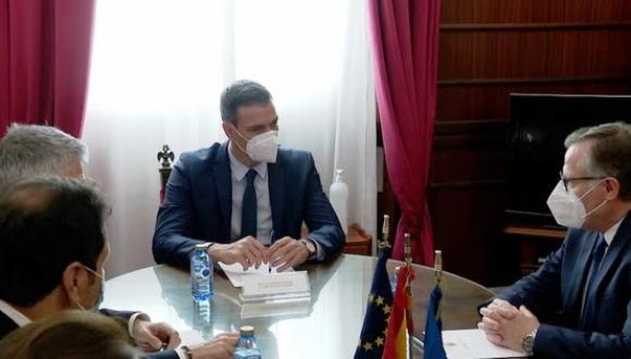 رئيسا سبتة ومليلية يجتمعان بسانشيز قبل بدء المفاوضات مع المغرب