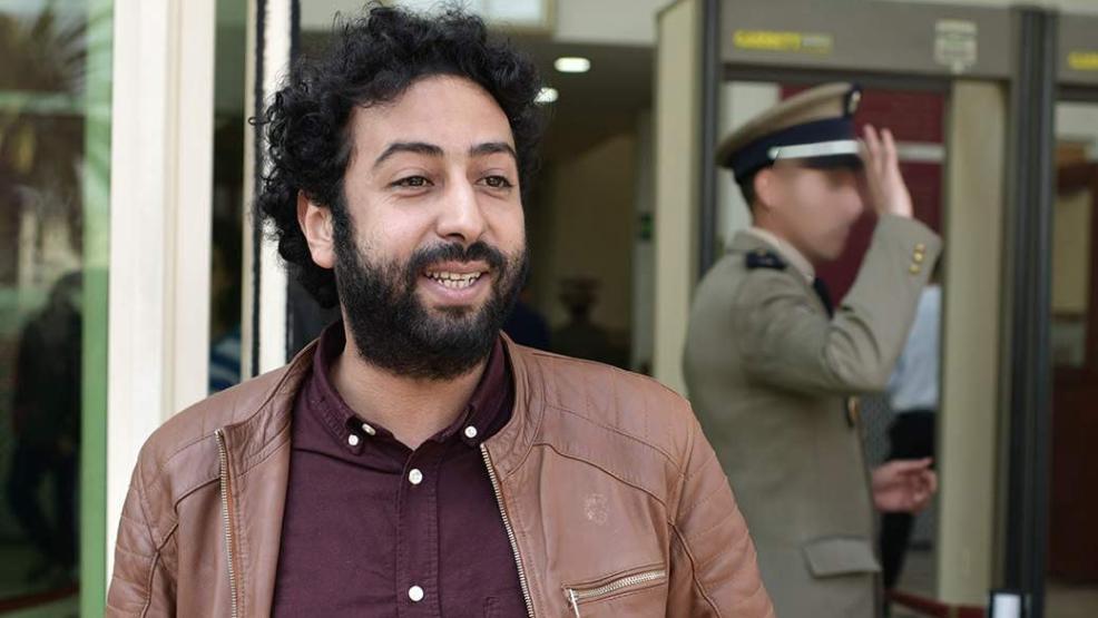 إدانة الصحافي عمر الراضي بالسجن النافذ والغرامة المالية