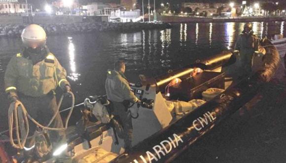 """إعتراض قارب فونطوم طوله 12 متراً محمل بأطنان من """"الحشيش"""" بسبتة (+صور)"""