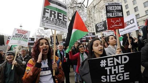 فرنسا تمنع مظاهرات مؤيدة للشعب الفلسطيني