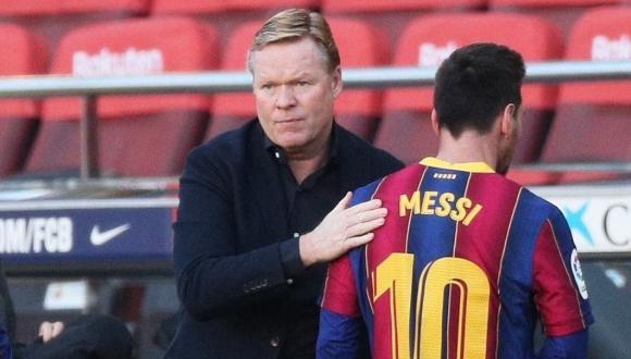كومان يعلق على فوز برشلونة دون ميسي