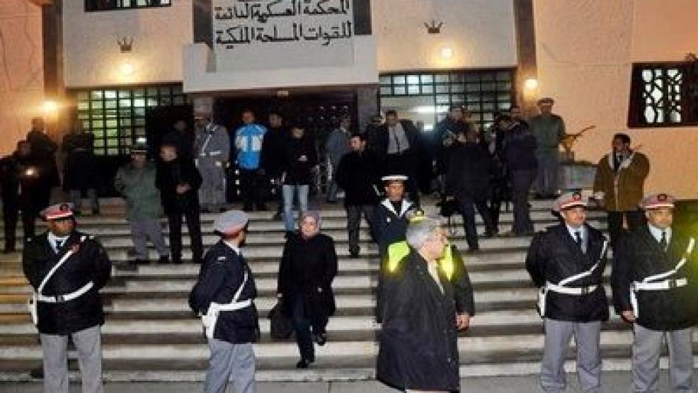 إنطلاق محاكمة مهاجر سري قتل ضابطا عسكريا مغربيا على مشارف مليلية