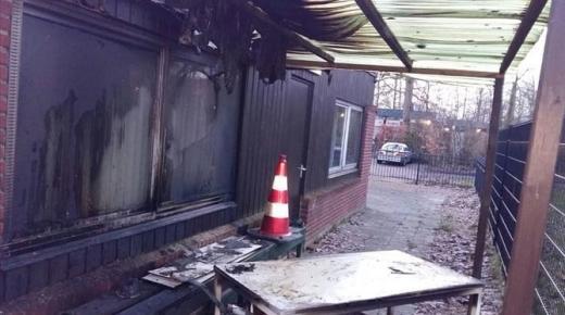 إضرام النار في مسجد قيد البناء بهولاندا