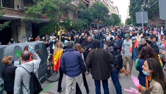 مظاهرات في إسبانيا احتجاجا على ارتفاع أسعار الكهرباء