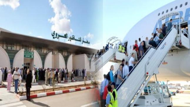 ارتفاع عدد مستعملي مطار العروي بنسبة 13 في المائة خلال النصف الاول من هذه السنة