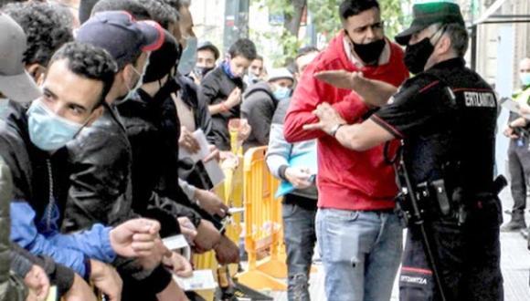 """سلطات مليلية تطرد المئات من """"المهاجرين المغاربة"""" (وثيقة)"""