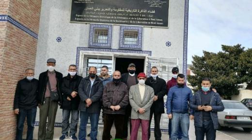 (+صور): أسرة المقاومة بالناظور والدريوش تندد بفعلة اعلام الجزائر