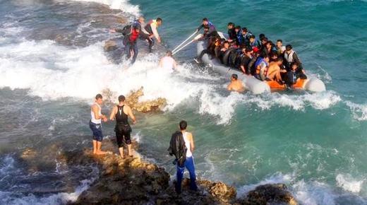 موت 18 مهاجراً غرقاً في بحر إيجه قبالة سواحل تركيا