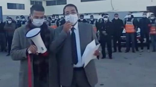 (شاهد): هكذا استعدت االفرق الأمنية بالناظور لليلة رأس السنة (فيديو خاص)