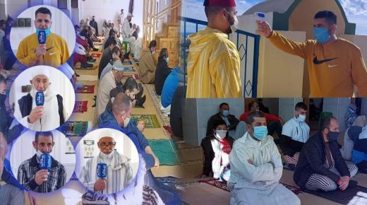 إعادة فتح مسجد إدودوحا ماري واري في انضباط تام و تطبيق لكل إجراءات و بروتوكول الوقاية (روبورتاج)
