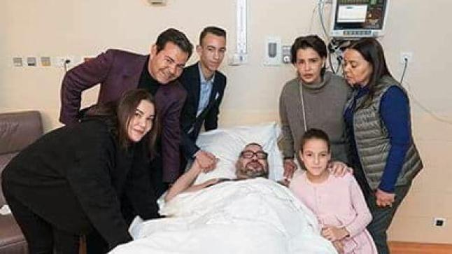 لأول مرة.. الملك محمد السادس يظهر في صورة عائلية بعد إجرائه العملية الجراحية