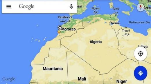 جوجل تعترف بمغربية الصحراء وتصدم مرتزقة البوليزاريو