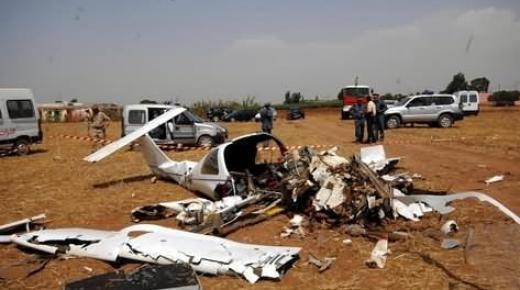 استنفار امني بعد العثور على طائرة خفيفة محترقة نواحي ميضار