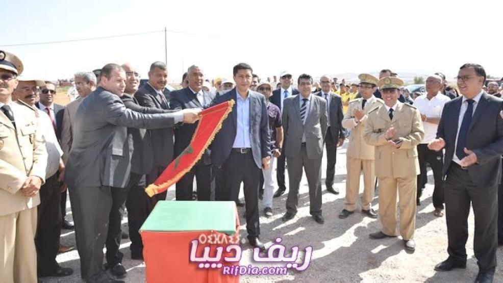 رئيس مجلس جهة الشرق يعطي انطلاقة مجموعة من المشاريع بمناسبة عيد العرش