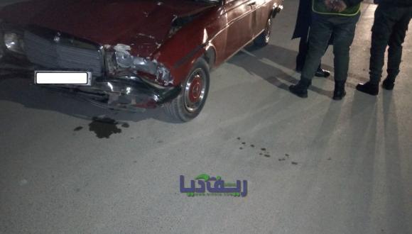 ليلة رأس السنة بالناظور سائق يدهس 3 سيارات قبل أن يقع في قبضة أحد السدود الأمنية (صور+ فيديو)