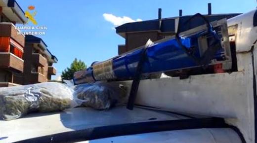 بالفيديو .. توقيف مغربي يستخدم سيارة إسعاف في نقل المخدرات باوروبا