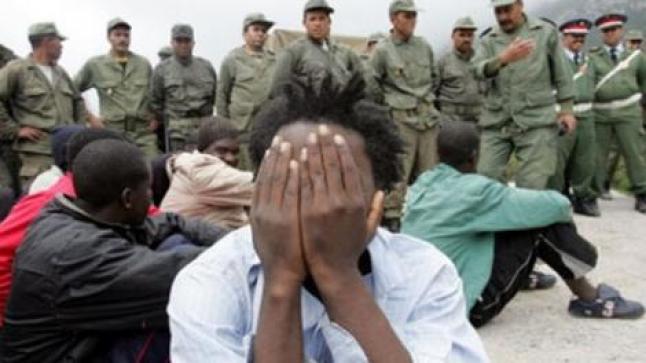 هيومن رايتس ووتش : أمن المغرب ينتهك ويسرق المهاجرين بالناظور