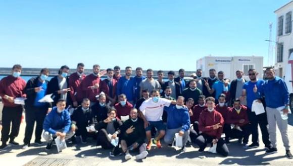 السلطات الاسبانية تفرج عن مهاجرين ينحدرون من الريف أنقذتهم الأسبوع الجاري