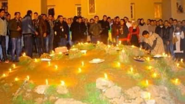 الحركة الثقافية الأمازيغية بوجدة تخلد السنة الأمازيغية الجديدة بالحرم الجامعي
