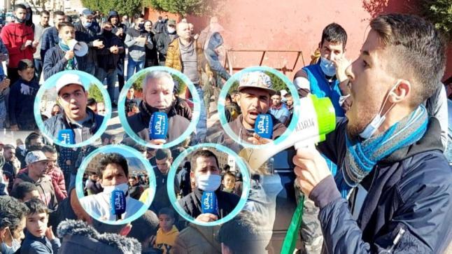 بالفيديو.. تجار سوق الجوطية بالناظور يتظاهرون ويهددون بالتصعيد وهذه هي مطالبهم