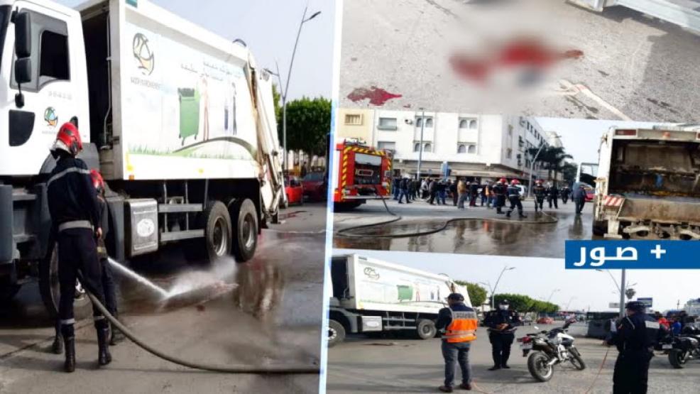 عاجل قبل لحظات: مقتل طالبة بالناظور جراء دهسها بشاحنة نفايات (+صور)