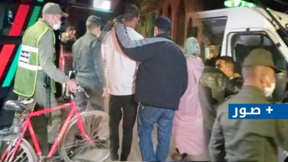 اعتقال 27 شخصاً متورطا في رشق سيارات و شاحنات بالحجارة