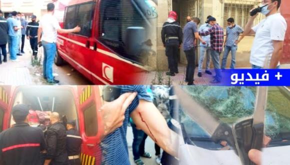 الرصاص يلعلع في الناظور والقبض على جانح اعتدى على الساكنة و الشرطة (فيديو)