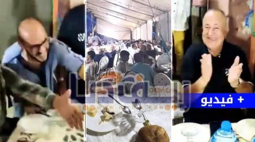 رغم حظر التجوال الليلي.. أبرشان و مسؤولين جماعيين في حفل ليلي الآن