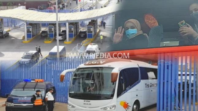 حكومة مليلية تعلن عودة جميع المغاربة العالقين بالمدينة إلى ديارهم