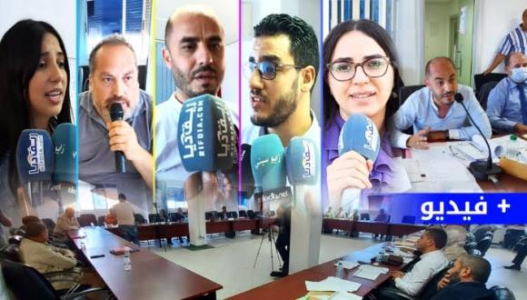 ارتسامات و تصاريح أعضاء المجلس الجماعي للناظور على هامش انعقاد أولى الدورات