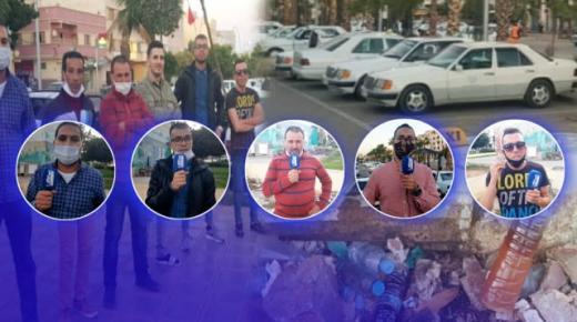 بعد تشييدها بقليل: محطة 03 مارس بالناظور بدون مرافق صحية و سائقون يحتجون.. (فيديو)
